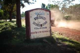 Nyaishozi Secondary Sign